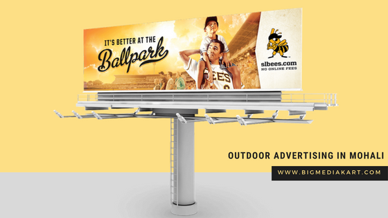 Outdoor Advertising in Mohali