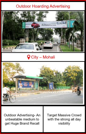 Outdoor Hoarding Advertising in Mohali, Punjab | Outdoor ad agencies in Mohali | Outdoor Advertising Options | Out of Home Advertising in Mohali | Hoarding ad in Mohali | Hoardings Advertising in Punjab | Hoardings Advertising in Chandigarh Tri-city | Unipole Advertising in CHandigarh, Panchkula and Mohali | Mohali outdoor advertising