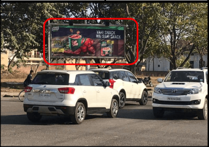Gantry Advertising at Fortis Chowk Mohali