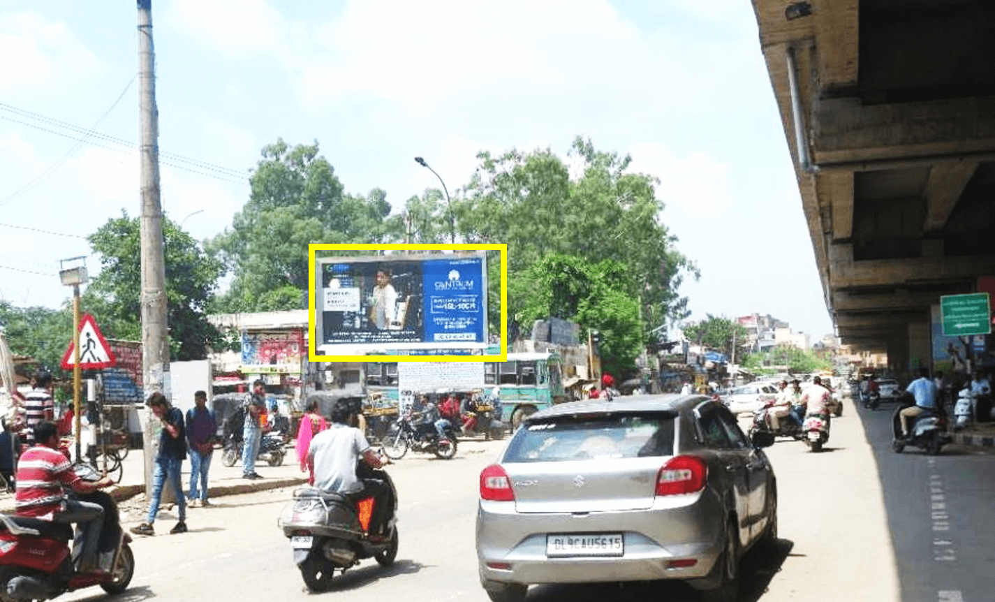 Unipole advertising at Bus stand, Derabassi