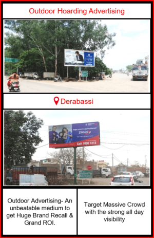 Outdoor Advertising in Derabassi, Outdoor Advertising in Punjab, Hoardings advertising agency in Derabassi, outdoor advertising agency in Punjab, Hoarding ads in Derabassi