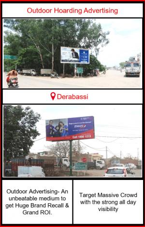 Outdoor Advertising in Derabassi, Outdoor Advertising in Punjab, Hoardings advertising agency in Derabassi, outdoor advertising agency in Punjab, Hoarding ads in Derabassi
