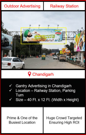 Outdoor Advertising at Railway Station, Advertising on Railway Station in Chandigarh, Railway Station Branding in Chandigarh, Advertising On Railway Station in Chandigarh, Railway Station Branding in Chandigarh