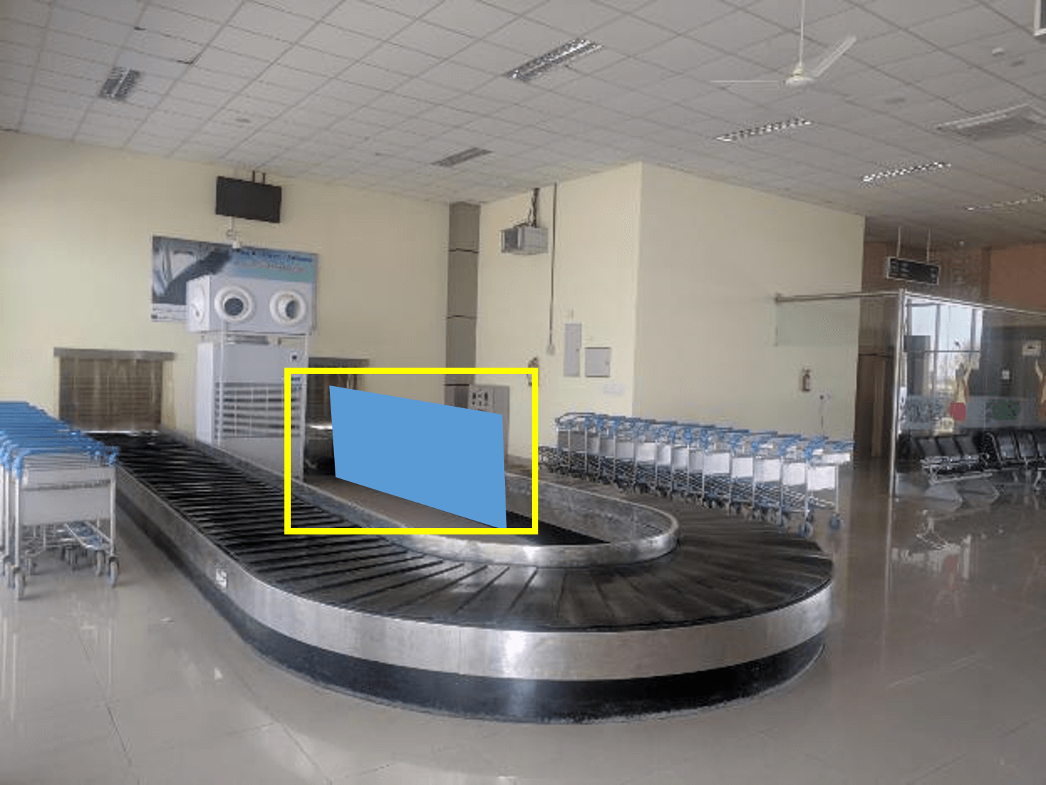 Option No.1 Branding at Airport, Arrival - Conveyor Belt, Bathinda