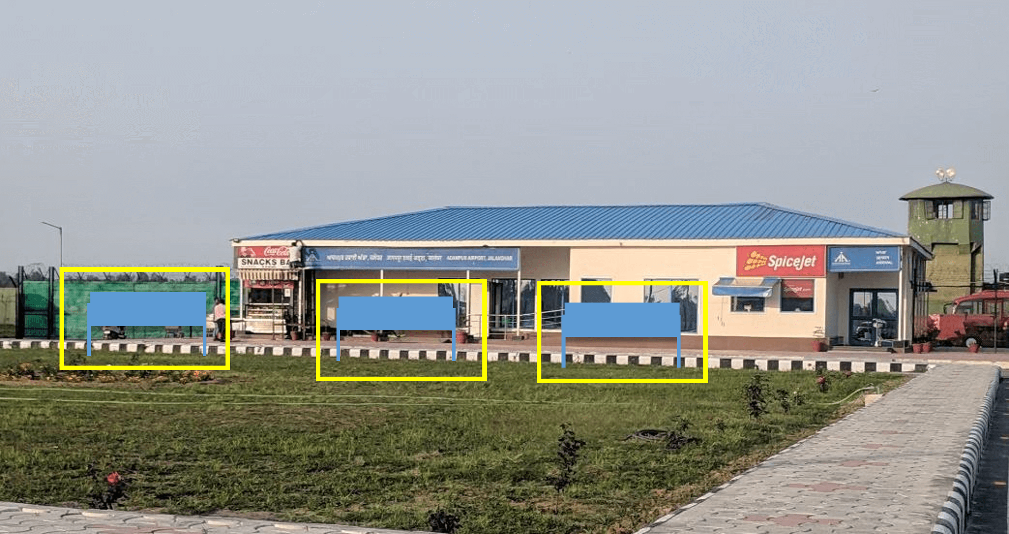 Option No.1 Branding at Airport, Arrival and Departure, Adampur, Jalandhar