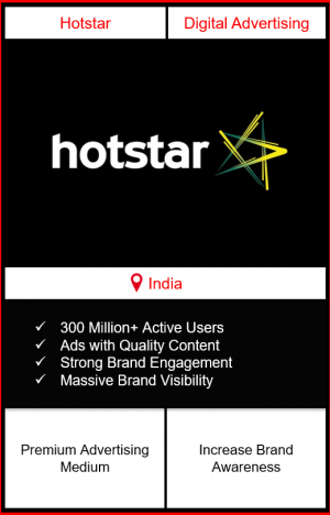 advertising on hotstar app, advertising on hotstar, digital advertising in india, hotstar app advertising, how to advertise on hotstar