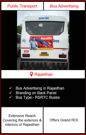 rajasthan bus advertising, bus branding in rajasthan, bus advertising in rajasthan, rajasthan buses, rstrtc bus branding
