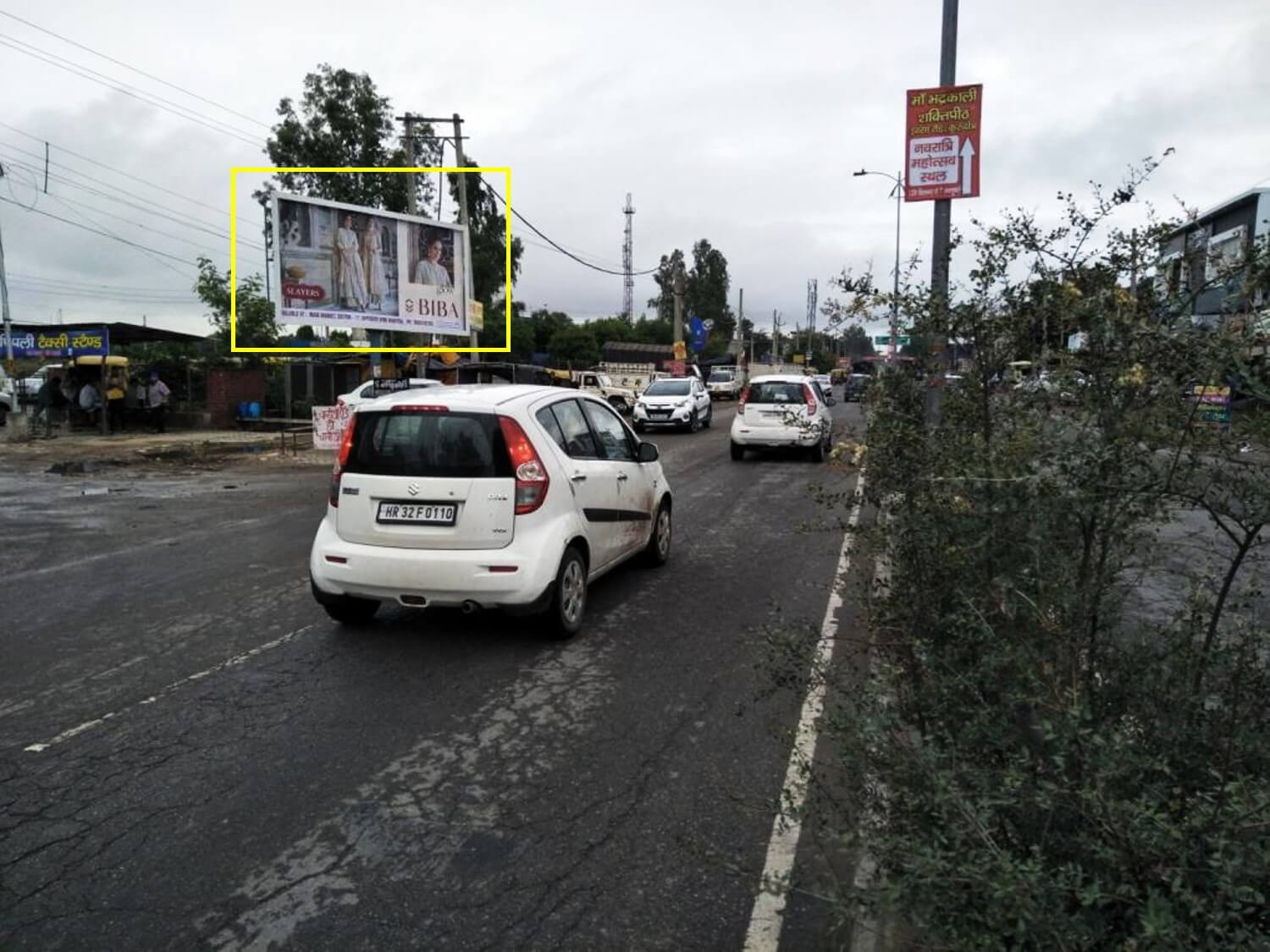 Option No.4 Unipole Advertising Near Pipli Chowk, Kurukshetra