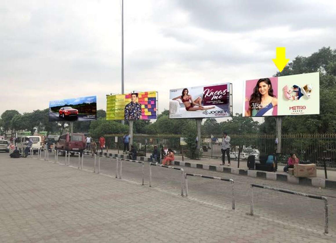 Option No.3 Unipole advertising at Railway Station, Opposite Main Terminal, Jammu