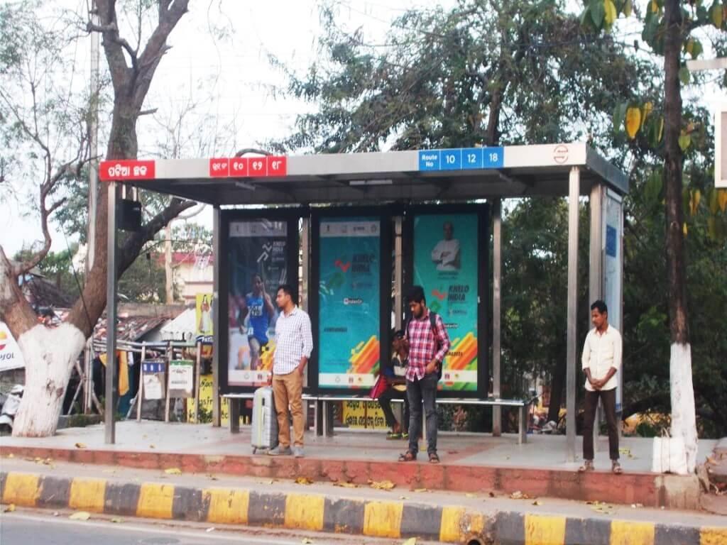 Option No.3 Bus Shelter Branding at Patia Square, Bhubaneswar
