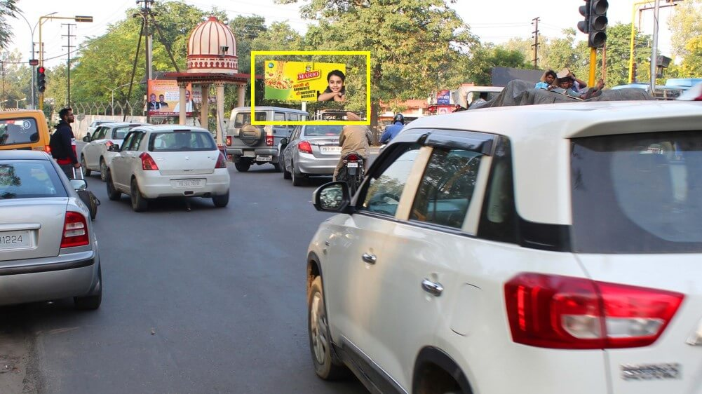 Option No.1 Outdoor Unipole at Thapar College Traffic Lights, Patiala