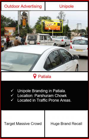 outdoor advertising in patiala, hoarding advertising in patiala