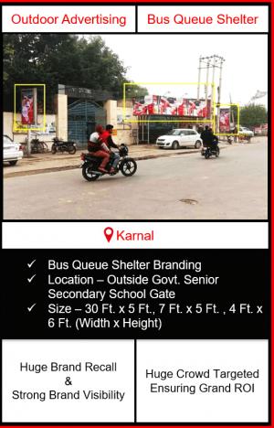outdoor advertising in karnal, outdoor branding in karnal, outdoor advertising, outdoor advertising in haryana
