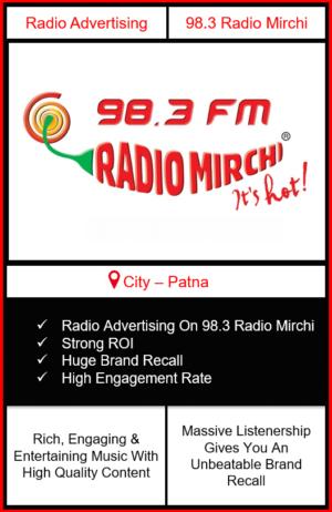 radio advertising in patna, advertising on radio in patna, radio advertising patna