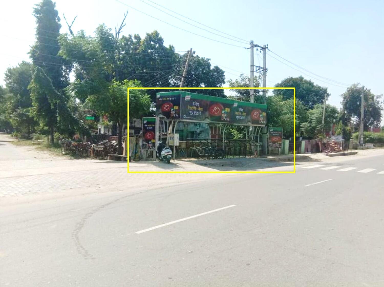 Option No.1 Bus Queue Shelter Branding at ITI Chowk, Karnal
