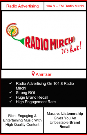 Radio Advertising in Amritsar, advertising on radio in Amritsar, radio ads in Amritsar, advertising in Amritsar