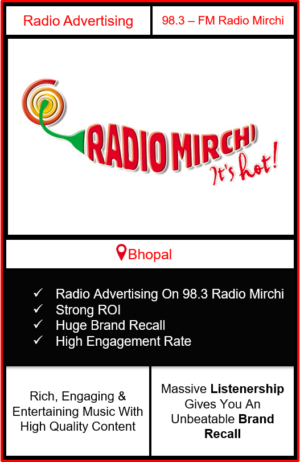 Radio Advertising in Bhopal, advertising on radio in Bhopal, radio ads in Bhopal, advertising in Bhopal