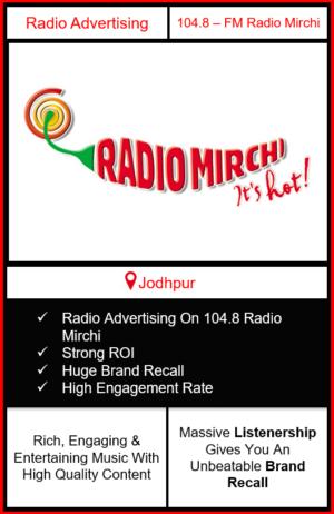 Radio Advertising in Jodhpur, advertising on radio in Jodhpur, radio ads in Jodhpur, advertising in Jodhpur