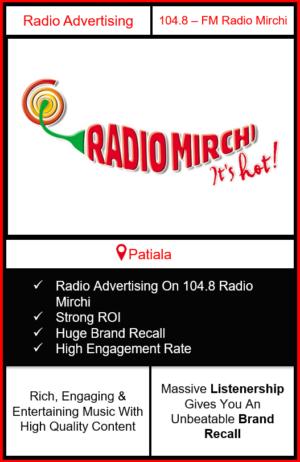 Radio Advertising in Patiala, advertising on radio in Patiala, radio ads in Patiala, advertising in Patiala