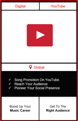 Song promotion, song promotion on youtube, Punjabi song promotion, song advertising