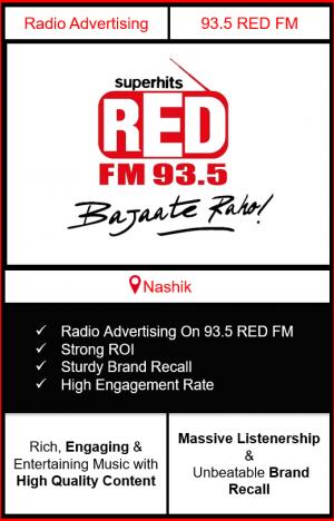 Radio Advertising in Nashik, advertising on radio in Nashik, radio ads in Nashik, advertising in Nashik, 93.5 RED FM Advertising in Nashik