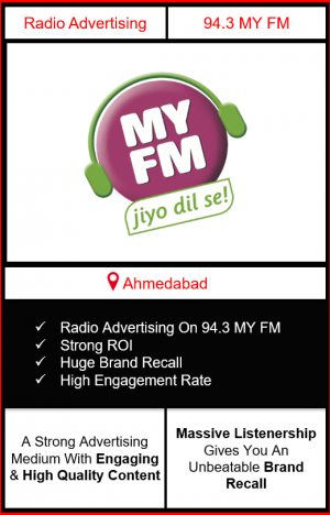 Radio Advertising in Ahmedabad, advertising on radio in Ahmedabad, radio ads in Ahmedabad, advertising in Ahmedabad, 92.7 BIG FM Advertising in Ahmedabad
