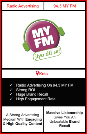 Radio Advertising in Kota, advertising on radio in Kota, radio ads in Kota, advertising agency in Kota