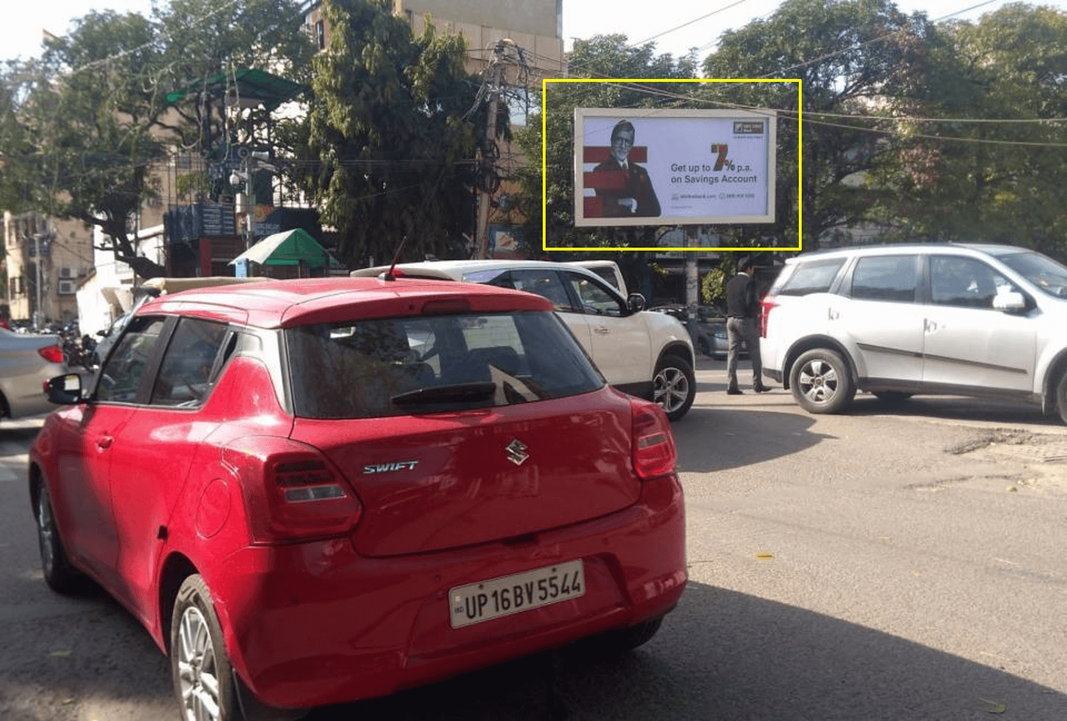Outdoor Unipole Advertising at Green Park Market (OPP. ANANDA BHAWAN RESTAURANT) Delhi