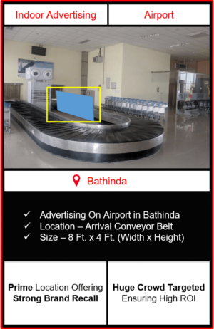advertising on airport advertising in bathinda, indoor airport branding in bathinda, bathinda airport advertising, advertising in bathinda, indoor airport advertising agency in bathinda
