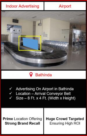 advertising on airport advertising in bathinda, indoor airport branding in bathinda, bathinda airport advertising, advertising in bathinda, indoor airport advertising agency in bathinda