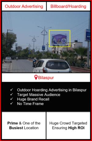 Outdoor advertising in bilaspur, outdoor advertising in bilaspur, bilaspur unipole advertising, ooh advertising in bilaspur, outdoor advertising agency in bilaspur, chhattissgarh