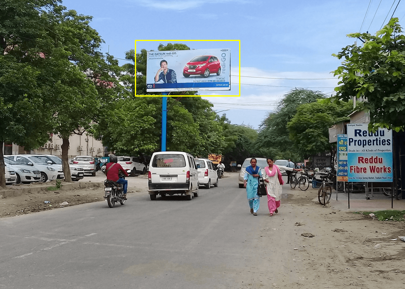 Option No.2 Outdoor Unipole Advertising at Sector-13 (Facing Sector 9 & 11), Hisar