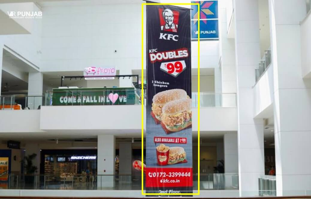 Dropdown Branding at VR Punjab Mall, Mohali