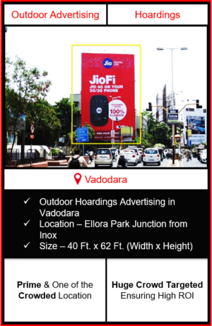 Outdoor advertising in vadodara, outdoor advertising in vadodara, vadodara hoarding advertising, ooh advertising in vadodara, outdoor advertising agency in vadodara, gujarat