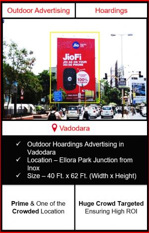 Outdoor advertising in vadodara, outdoor advertising in vadodara, vadodara hoarding advertising, ooh advertising in vadodara, outdoor advertising agency in vadodara, gujarat