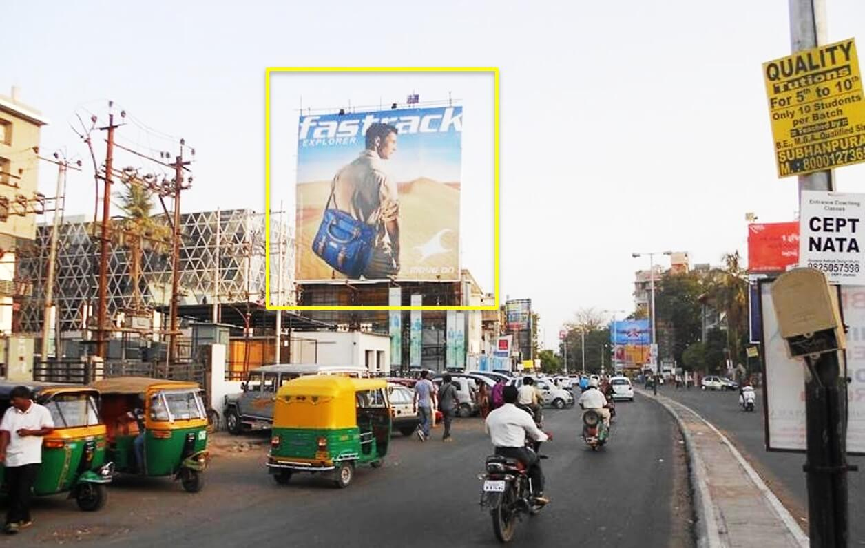 Option No.1 Outdoor Hoardings Advertising at Opp. Inox from Ellora Park, Vadodara, Gujarat