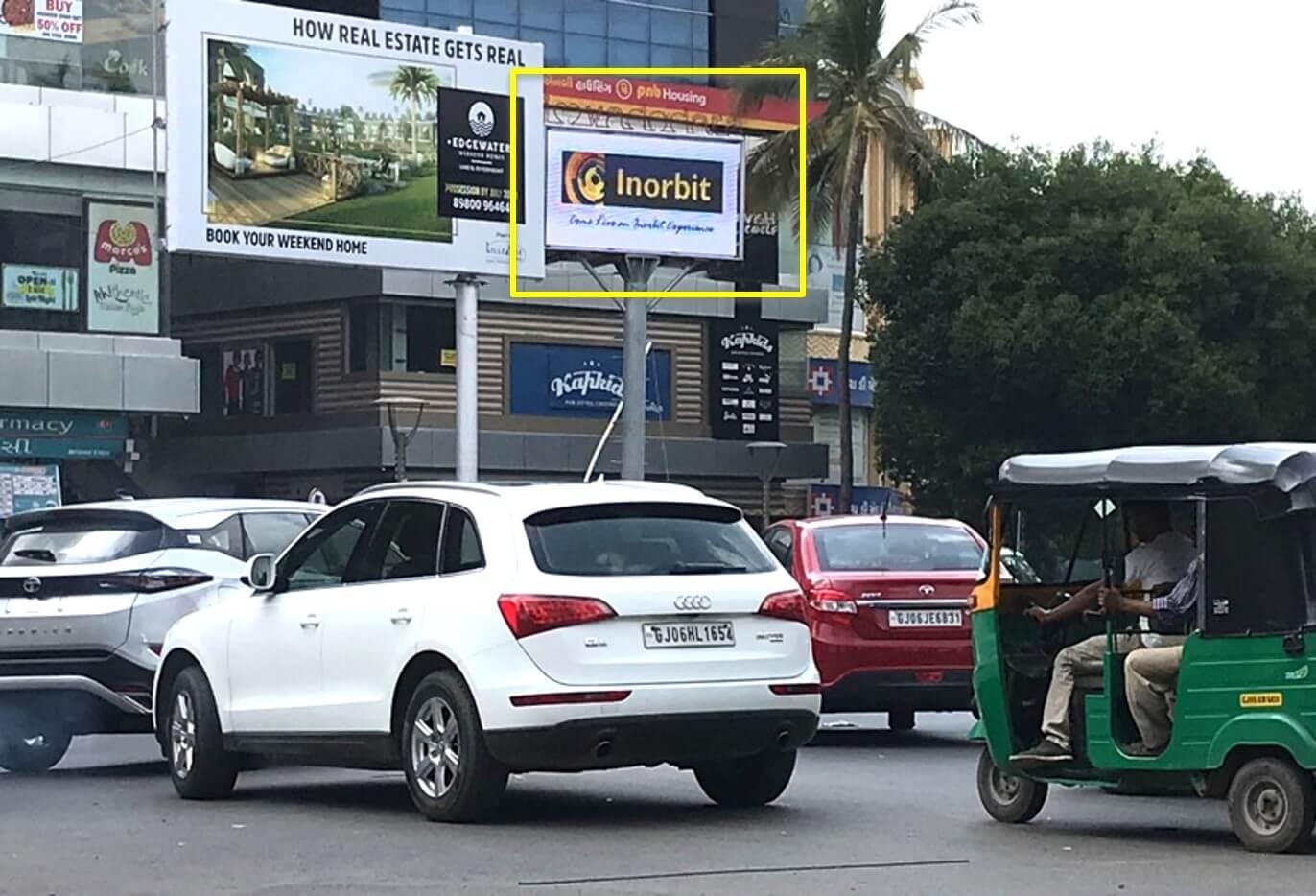 Option No.1 Outdoor Gantry Advertising at Airport Entry (Manekpar to Airport), Vadodara, Gujarat