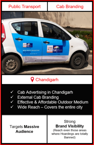 cabs advertising in chandigarh, cab branding in chandigarh, advertising on cabs in chandigarh, cab branding, cab advertising