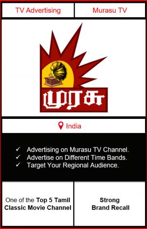 Murasu TV advertising, ad on Murasu TV, Murasu TV advertising agency