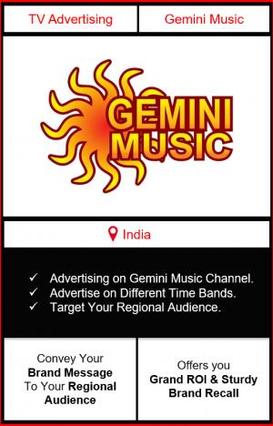advertising on gemini music, gemini music advertising, ad on gemini music, gemini music branding