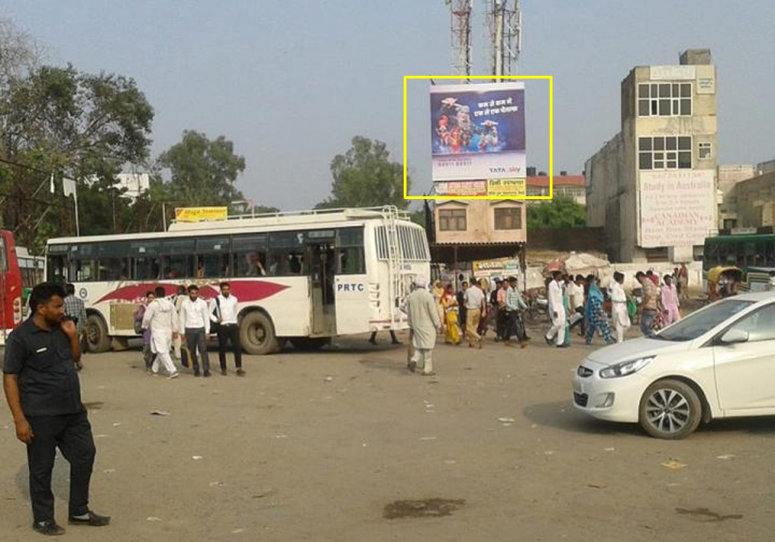 Option No.1 Hoarding Advertising at Bus Stand, Bathinda