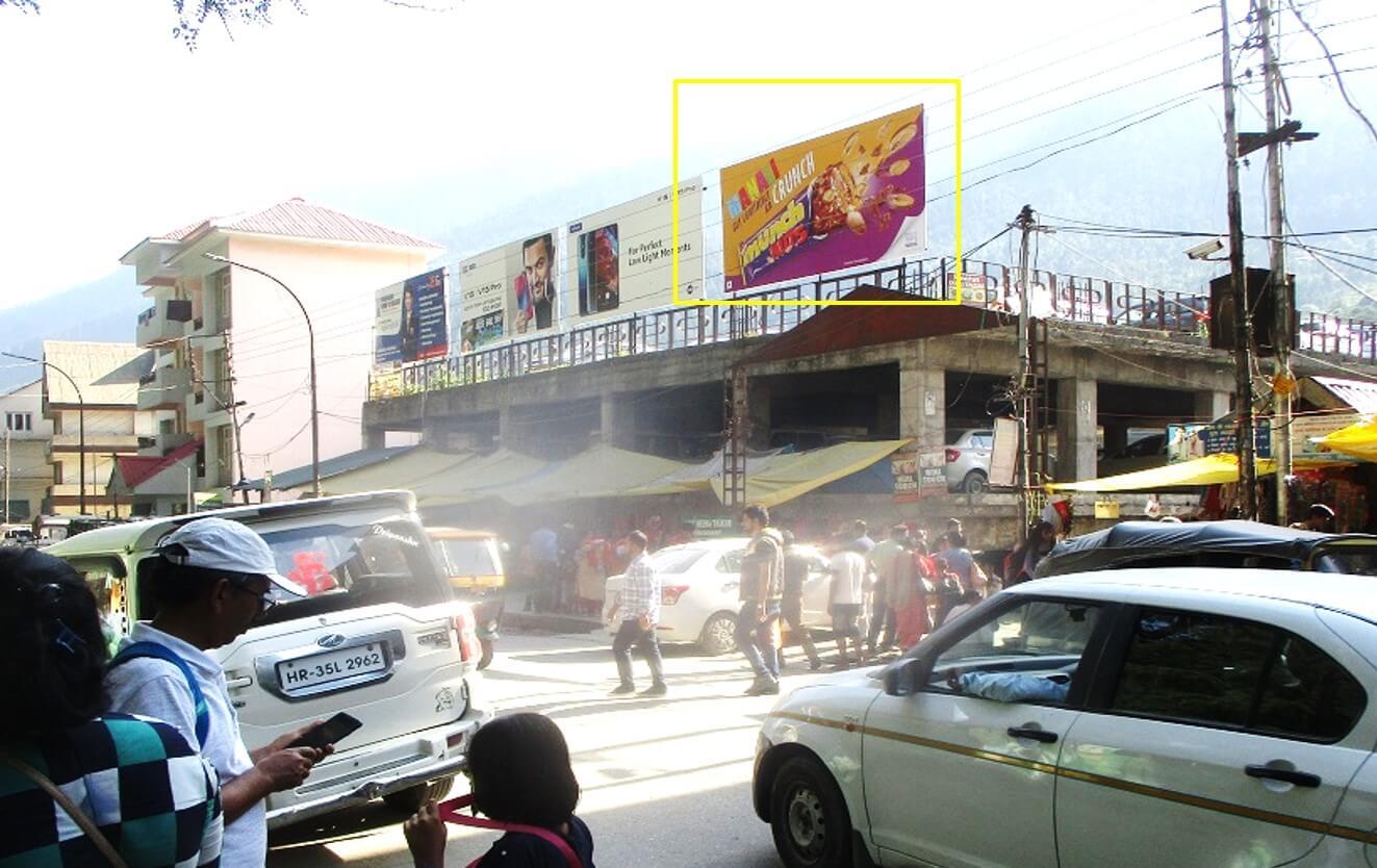 Option No.2 Hoarding Advertising at MC Parking, Manali