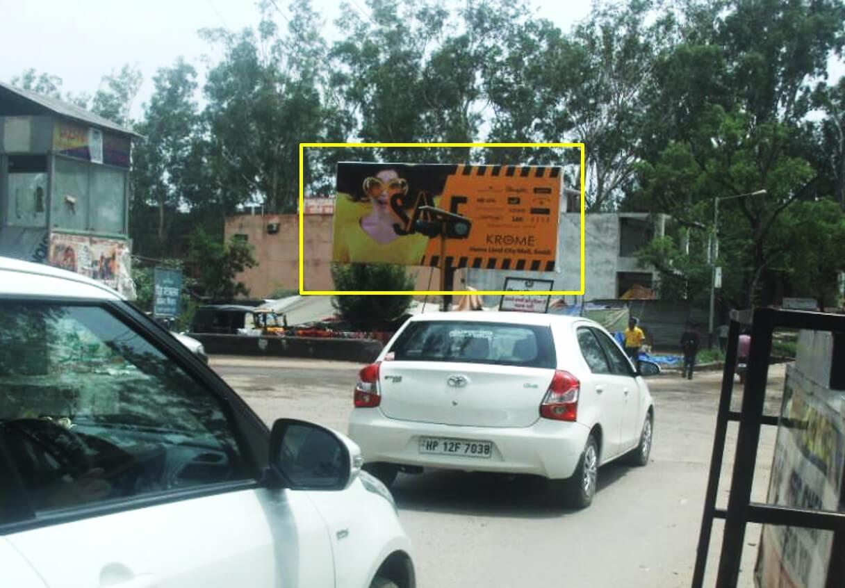 Option No.2 Hoarding Advertising Opp. MC Office, Baddi