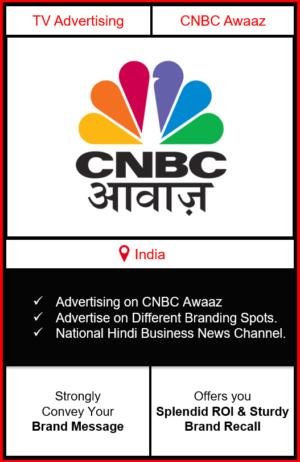 advertising on cnbc awaaz, cnbc awaaz advertising, branding on cnbc news channel, cnbc advertising