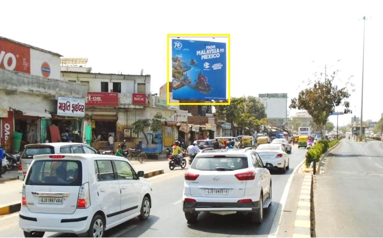 Outdoor Hoarding Branding at Ring Road Near Drive In Bridge, Ahmedabad