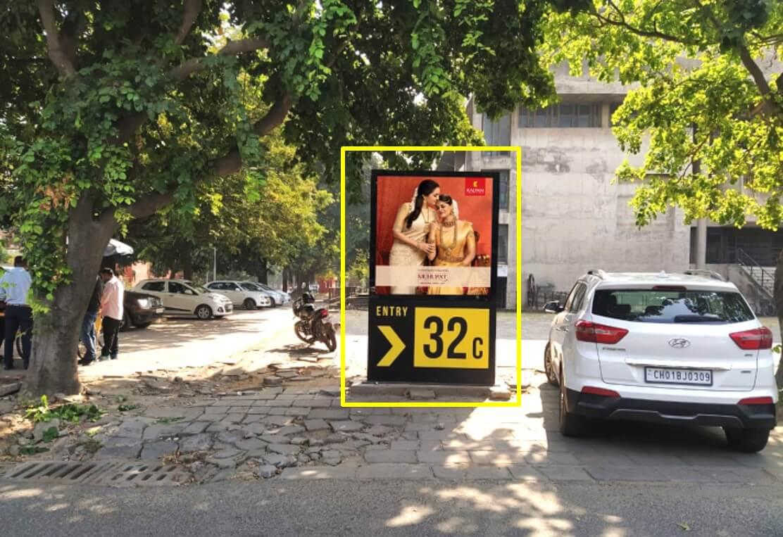 Outdoor Standee Branding at Sector 32 - C Opp. Nirmaan Cinema, Chandigarh