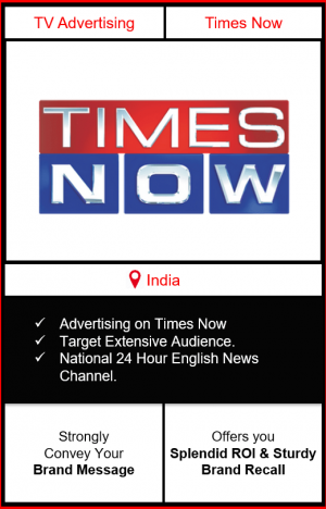 advertising on times now, times now advertising, branding on times now news channel, times now advertising
