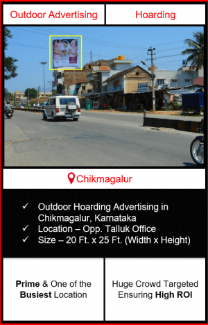 outdoor advertising in Chikmagalur, advertising on hoardings in Chikmagalur, outdoor hoarding advertising in Chikmagalur, outdoor advertising agency in Chikmagalur Karnataka