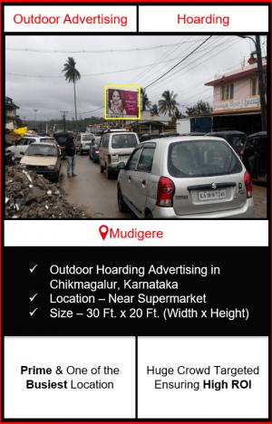 outdoor advertising in Mudigere, advertising on hoardings in Mudigere, outdoor hoarding advertising in Mudigere, outdoor advertising agency in Mudigere Karnataka