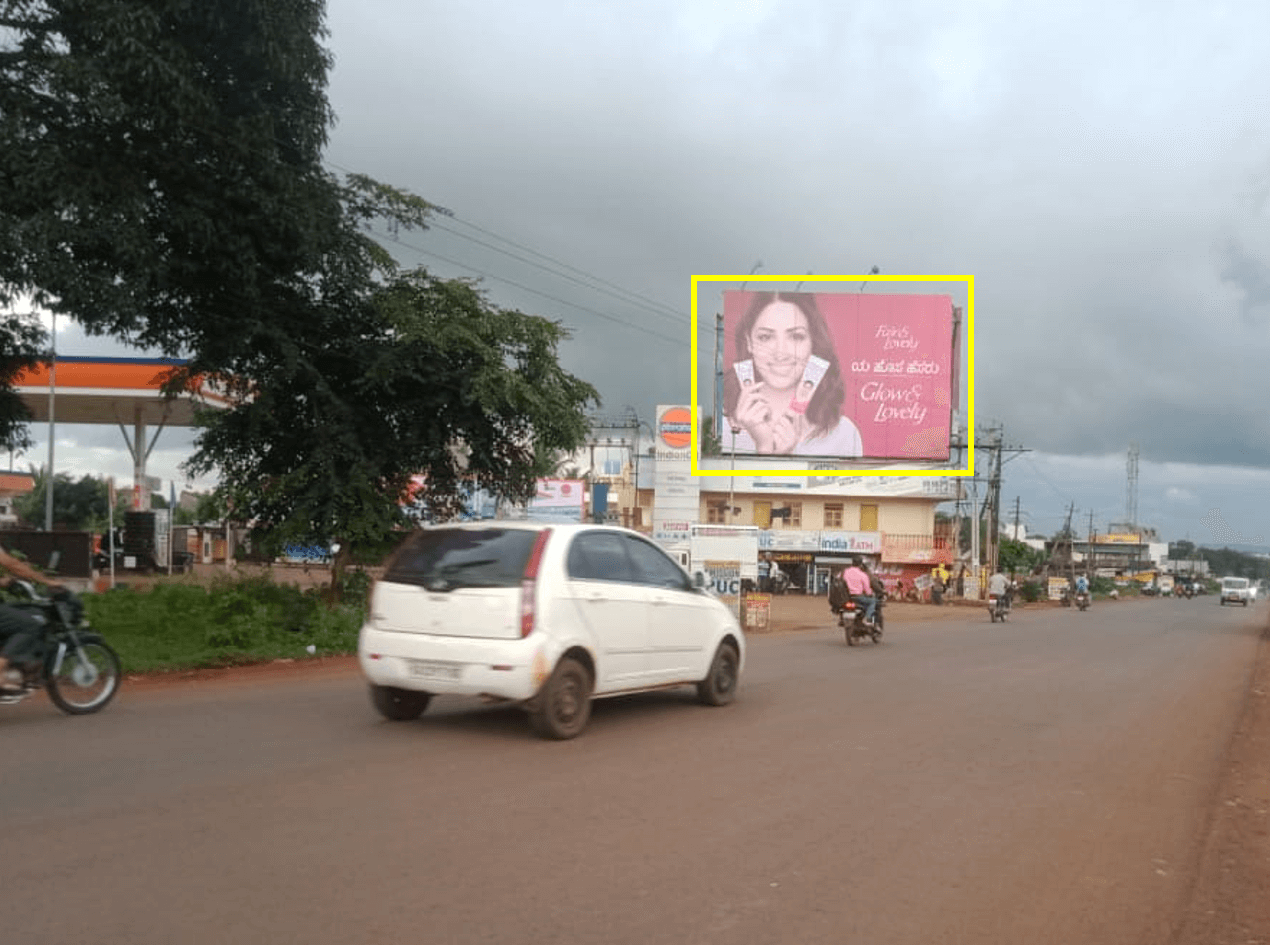 Outdoor Hoarding Branding at Goa Road, FTT Railway Station, Belgaum